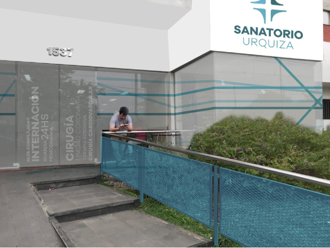 Frente de Sanatorio Urquiza